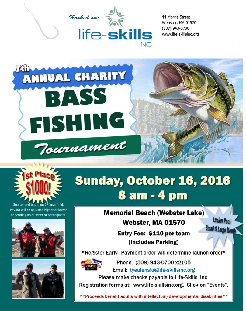7th annual charity bass fishing tournament